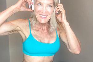 61-latka sporo schudła i uważa, że wygląda teraz lepiej niż w młodości. Sekret? Regularny trening