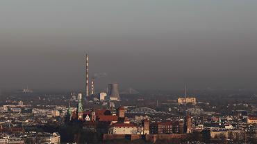 Zanieczyszczenie powietrza w Krakowie