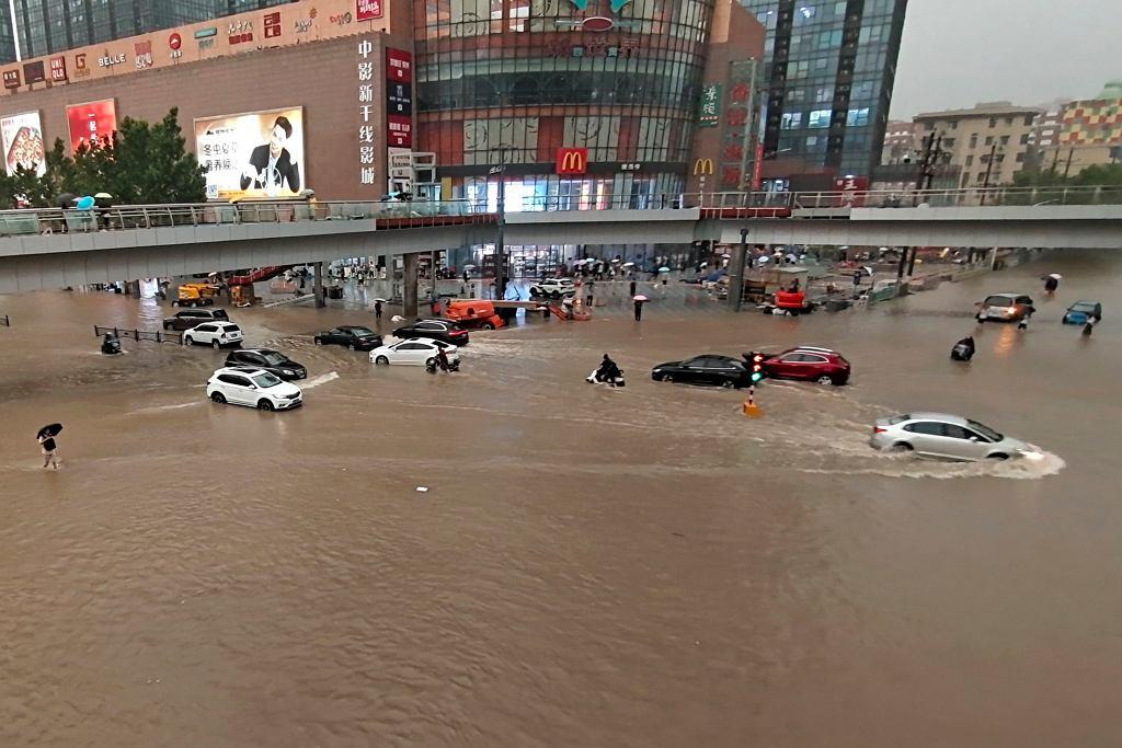 Powódź tysiąclecia w Chinach