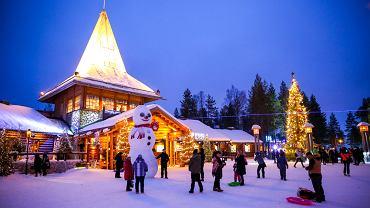 Rovaniemi - wioska Świętego Mikołaja
