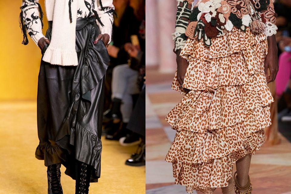 Spódnice trendy jesień 2020
