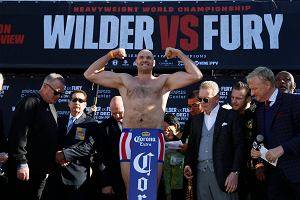 Boks. Deontay Wilder - Tyson Fury. Brytyjczyk cięższy aż o 20 kilogramów