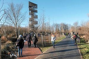 W Poznaniu została otwarta nowa wieża widokowa. Wystarczy pokonać 120 stopni, aby móc podziwiać panoramę miasta [ZDJĘCIA]