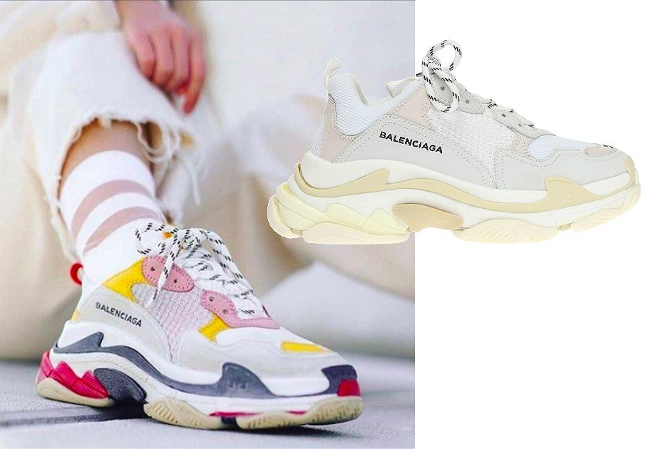 Balenciaga - model Triple S
