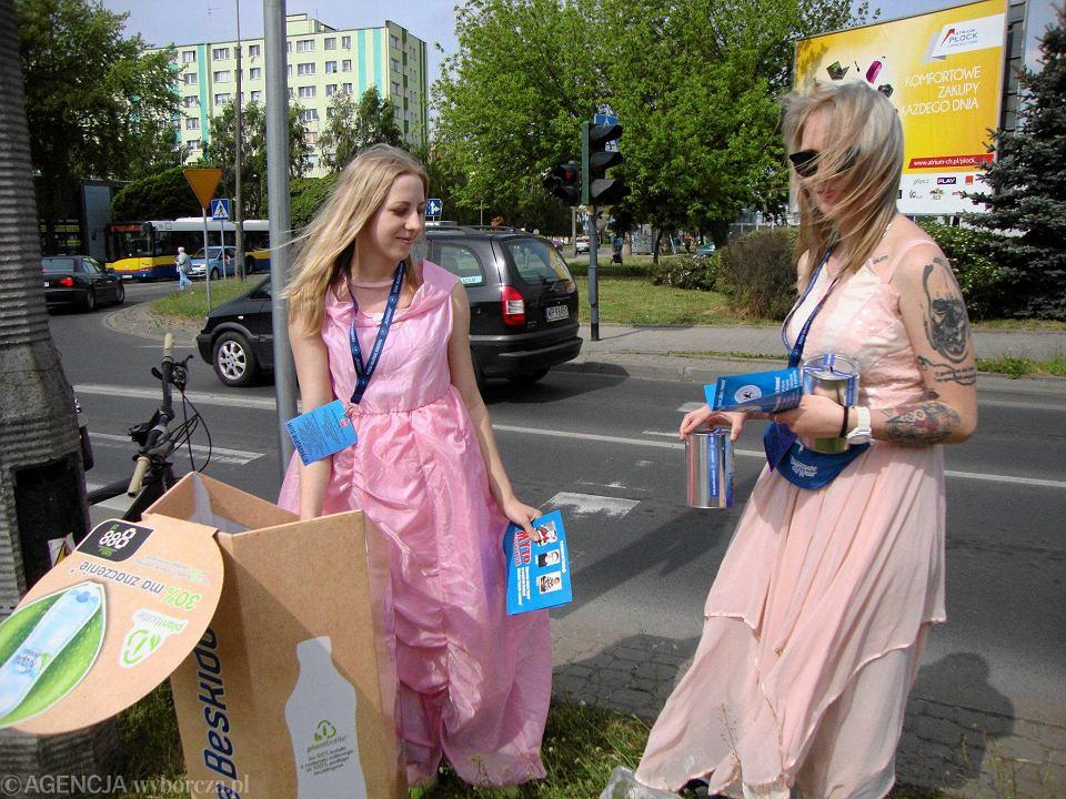 Włodkonalia w Płocku - zbieranie myta