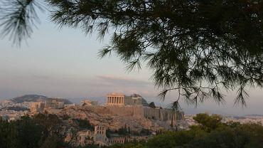 Grecja - widok na Akropol
