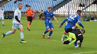 Sobota, 10 października 2020 r. Lubuska czwarta liga piłkarska: Stilon Prosupport Gorzów - Korona Kożuchów 1:1 (1:1)