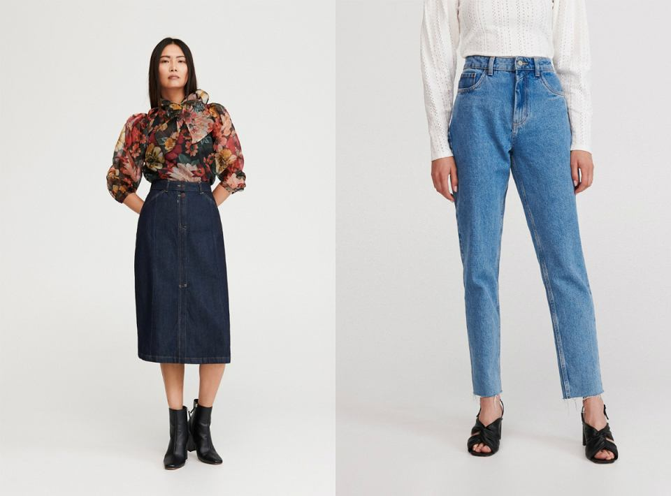 spodnie i spódnica Eco Aware