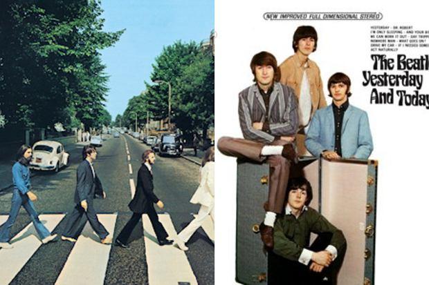 Płyty Beatlesów