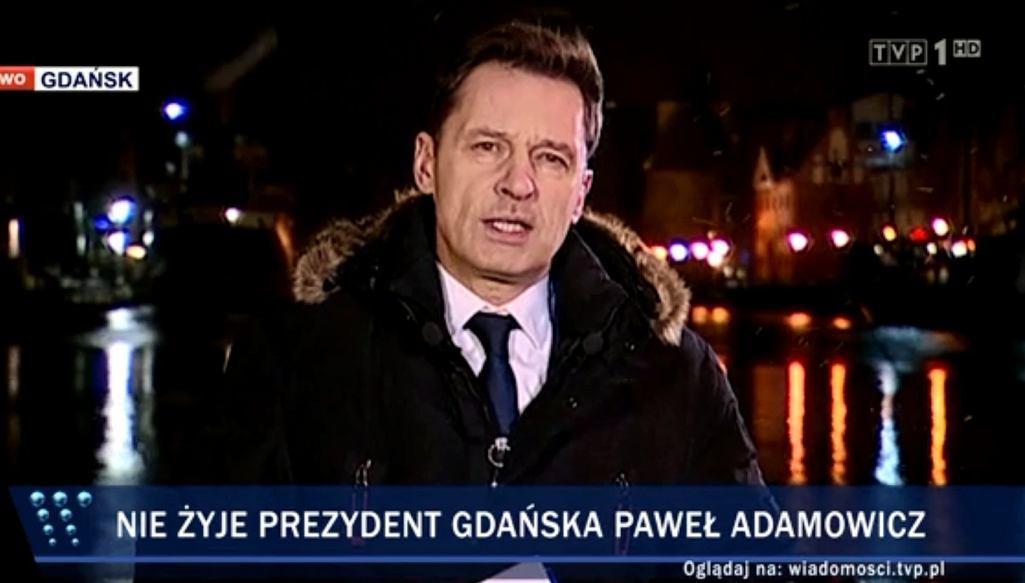 Krzysztof Ziemiec, 'Wiadomości' po śmierci Pawła Adamowicza