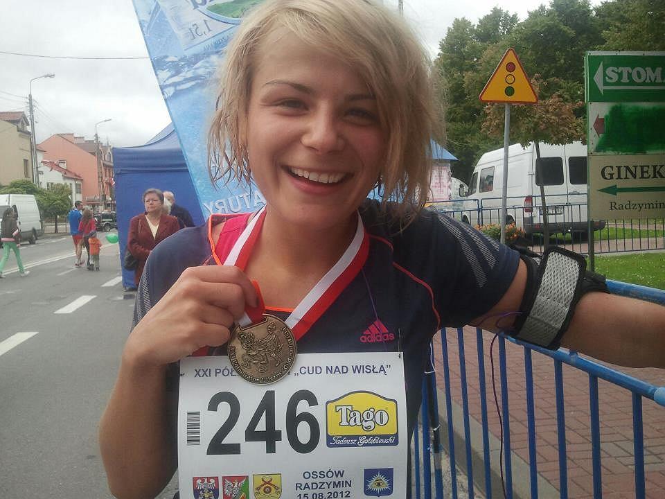Ania Szczypczyńska w ramach swoich przygotowań do 34. Maratonu Warszawskiego pobiegła półmaraton