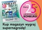 Urodzinowy konkurs Czterech Kątów. 25 nagród na 25. urodziny