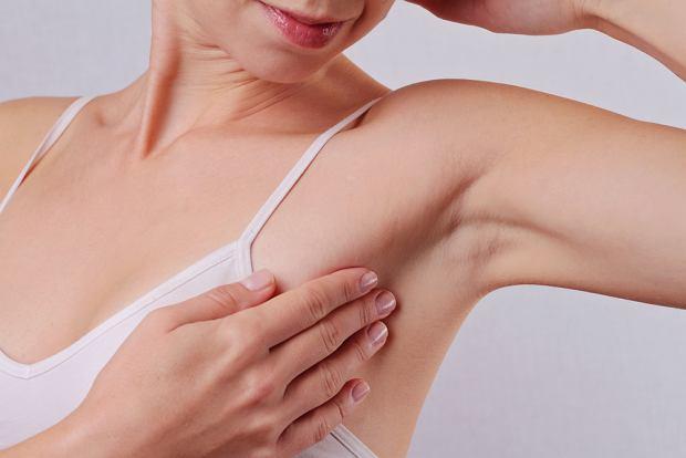 Ból pod pachą - o czym świadczy?