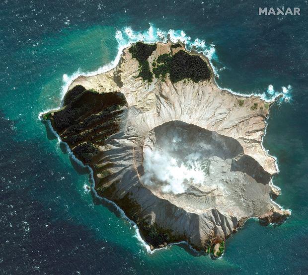 Wulkan na wyspie White
