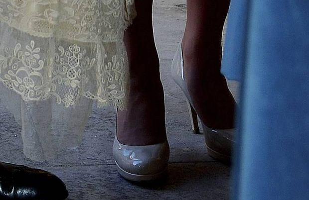 Księżna Kate, buty