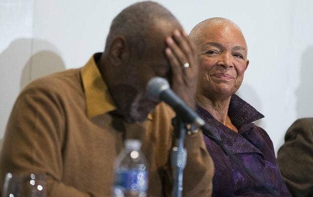 Bill Cosby z żoną