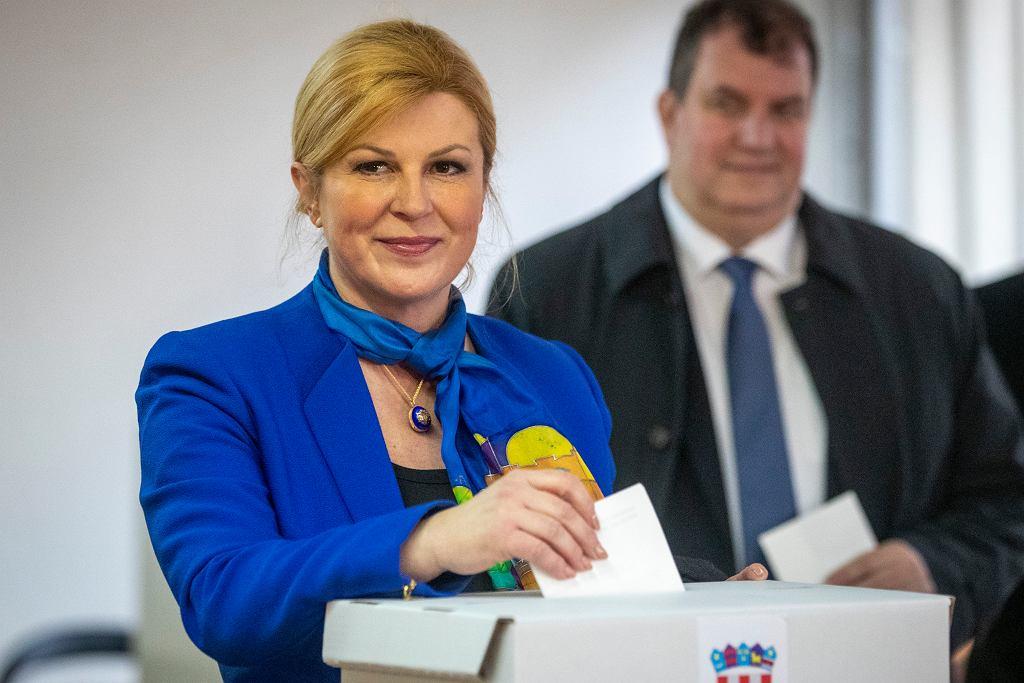 Prezydent Chorwacji Kolinda Grabar-Kitarović