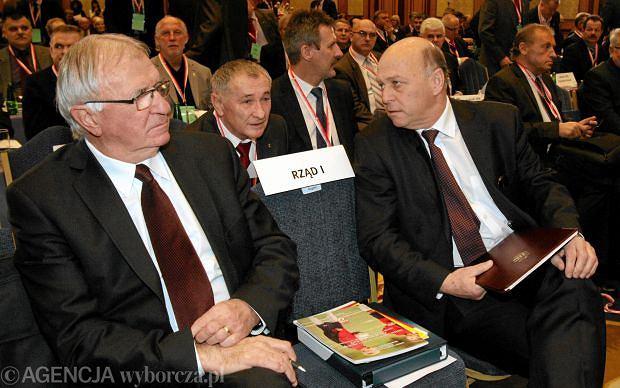 Antoni Piechniczek i Grzegorz Lato, prezes PZPN