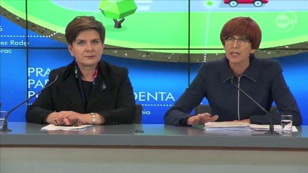 Premier Beata Szydło i Anna Streżyńska chwalą program 500+