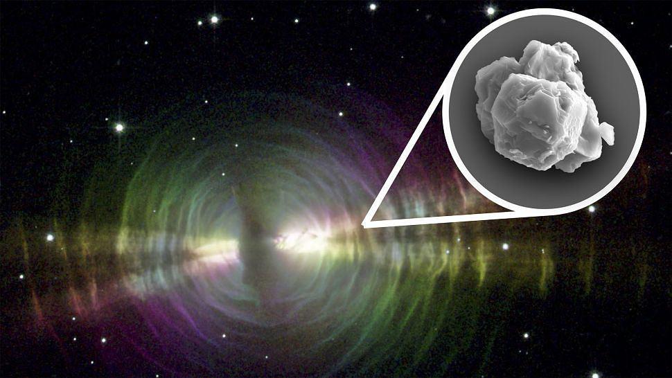 Naukowcy znaleźli w meteorycie cząsteczki gwiazd starsze niż Słońce i Ziemia
