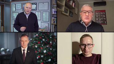 Jarosław Kurski, Władysław Frasyniuk, Tomasz Grodzki, Sławomir Sierakowski. Solidarni z wolną Białorusią