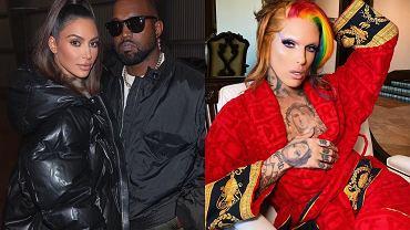 Kim Kardashian, Kanye West, Jeffree Star
