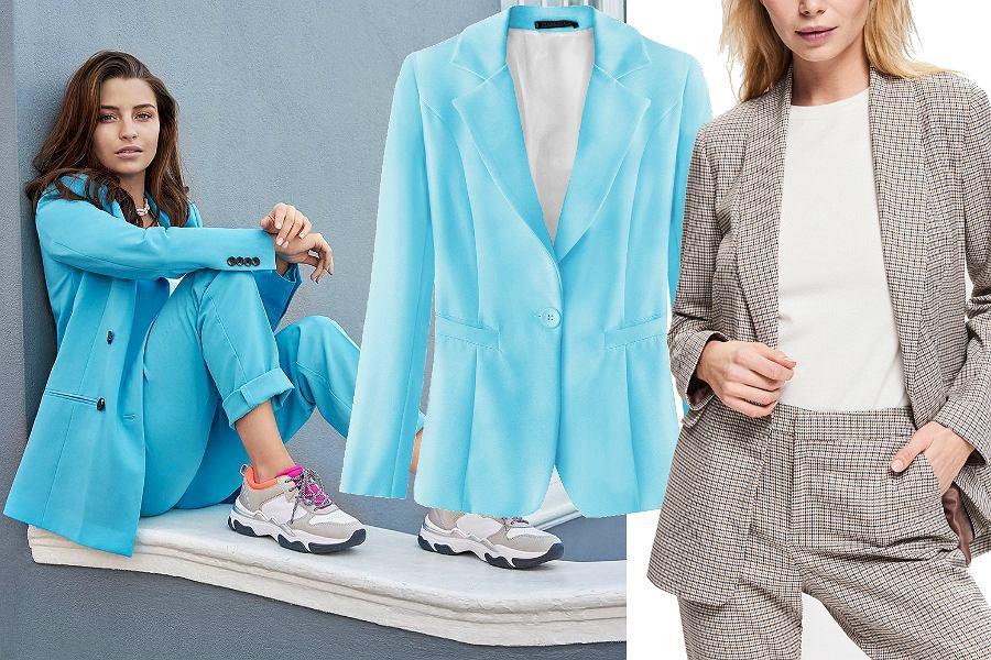 cba85f2f68 Garnitury damskie  niebieski model Julii Wieniawy z kampanii Deichmann to  hit sezonu! Wiemy