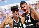 Bryl i Kujawiak ze srebrem MP w siatkówce plażowej. Inna para Czarnych tuż za podium
