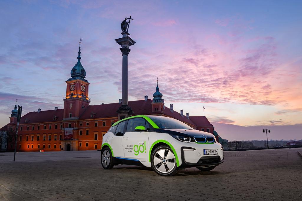 Innogy go!, czyli samochody elektryczne na minuty w Warszawie