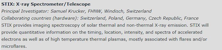 Spektrometr rentgenowski W Solar Orbiter powstał przy udziale Polski