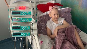 Nadia jest leczona terapią CAR-T we wrocławskiej klinice Przylądek Nadziei