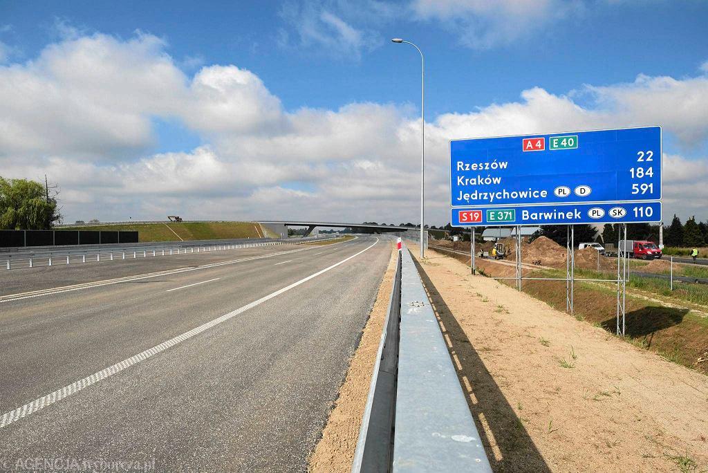 Otwarcie autostrady A4 Rzeszów - Jarosław