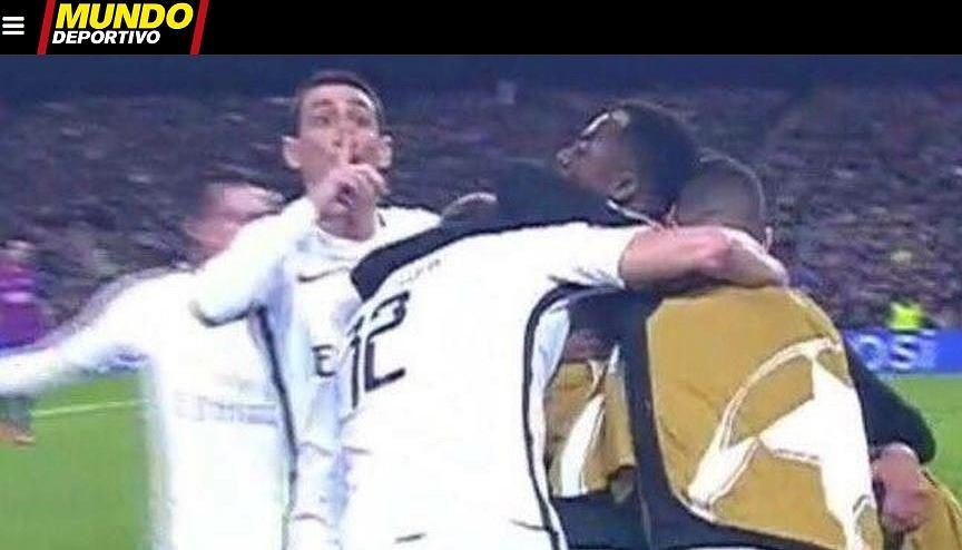 Angel Di Maria ucisza kibiców Barcelony na Camp Nou