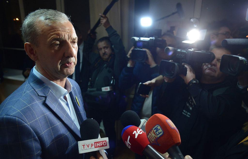 Przewodniczący ZNP Sławomir Broniarz