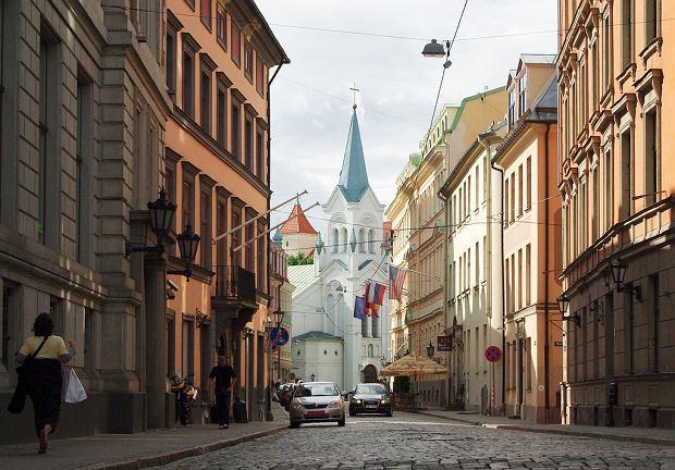 Łotwa Ryga - Stare Miasto w Rydze / Flickr.com / deguonis