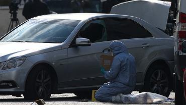 Londyn. Mężczyzna wjechał autem w samochód ambasadora Ukrainy