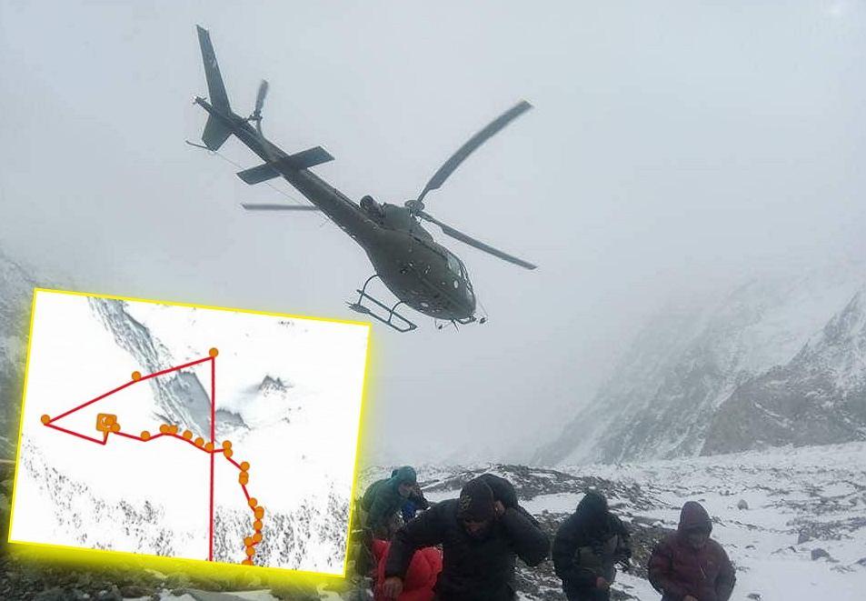 Trwa akcja ratunkowa na K2