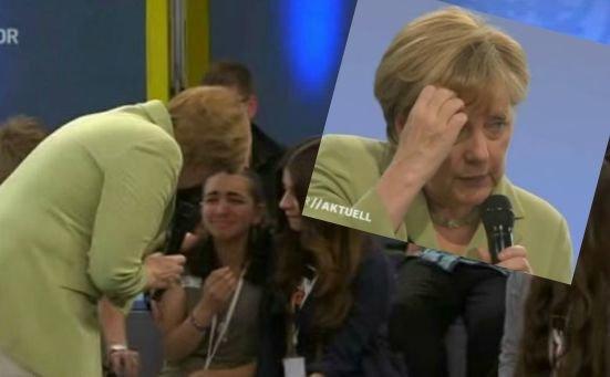 Angela Merkel pociesza Reem