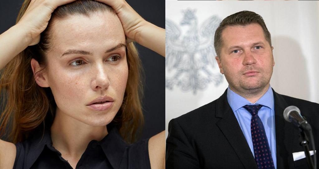 Minister Czarnek o 'odchudzaniu dziewczynek'. Gwiazdy komentują