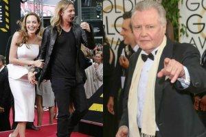 Angelina Jolie i Brad Pitt, Jon Voight