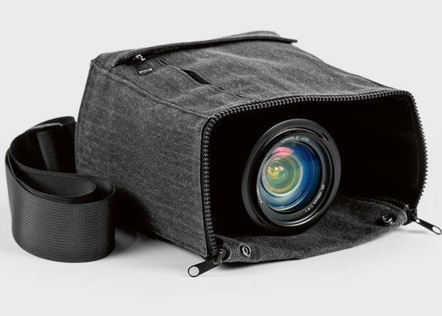 Cloak Camera Bag: możesz robić zdjęcia bez wyciągania sprzętu. Cena: 70 dol.