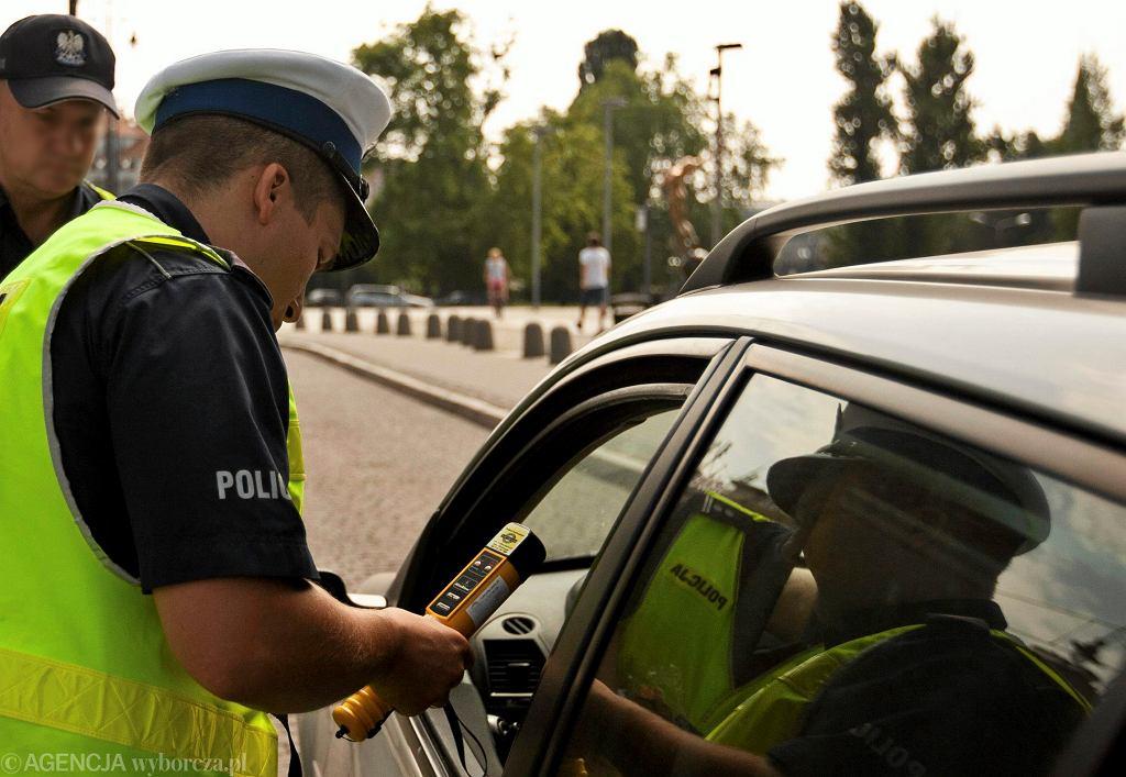 Kontrola policji |