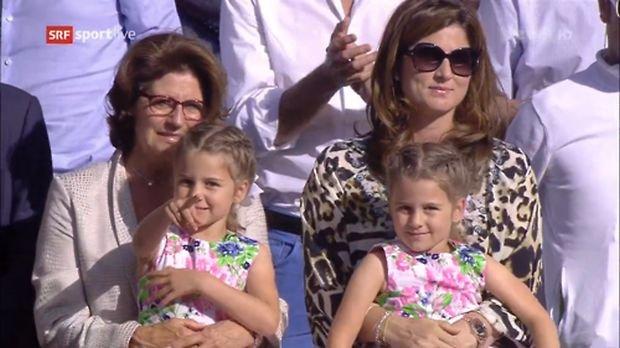 Rodzina Rogera Federera, Wimbledon 2014