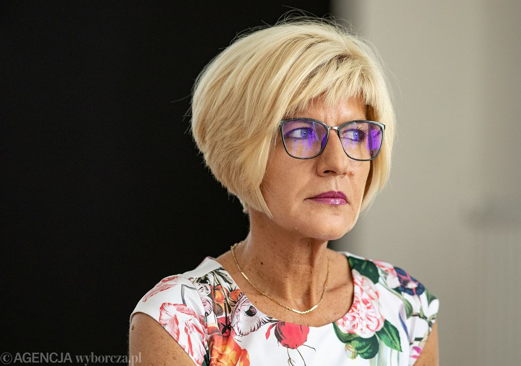 Prokurator Katarzyna Kwiatkowska ze stowarzyszenia Lex Super Omnia.
