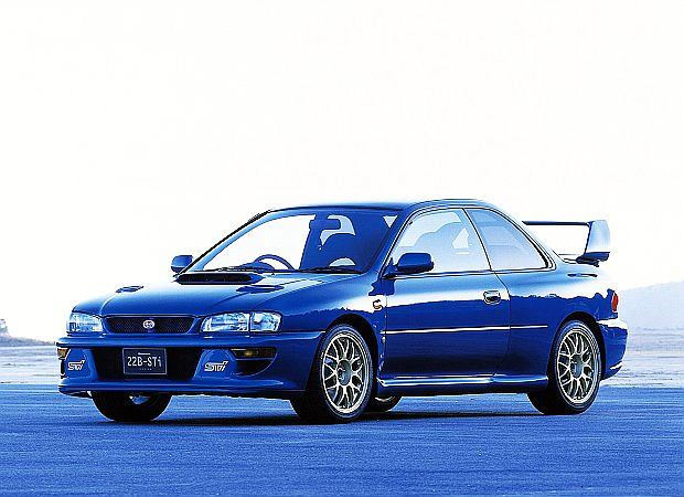 Jedną z najlepszych wersji Imprezy WRX był model o oznaczeniu 22B z dwudrzwiową karoserią zbudowany na 40 lecie firmy Subaru