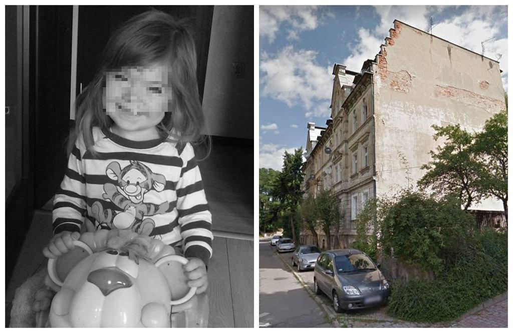 Kłodzko. 3-letnia Hania zmarła zmarła w wyniku obrażeń wielonarządowych. Do tragedii doszło w domu przy ul. Więźniów Politycznych