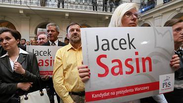 Jacek Sasin jest kandydatem PiS na prezydenta Warszawy