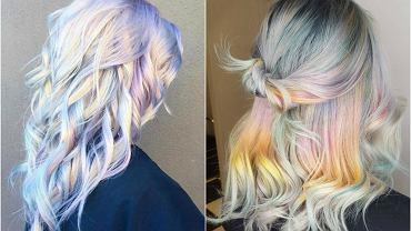 Holograficzne włosy - najnowszy hit tego sezonu