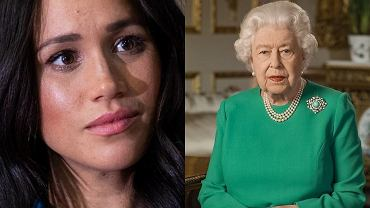 Królowa Elżbieta II w orędziu zwróciła się do Meghan Markle? Chodzi o broszkę monarchini