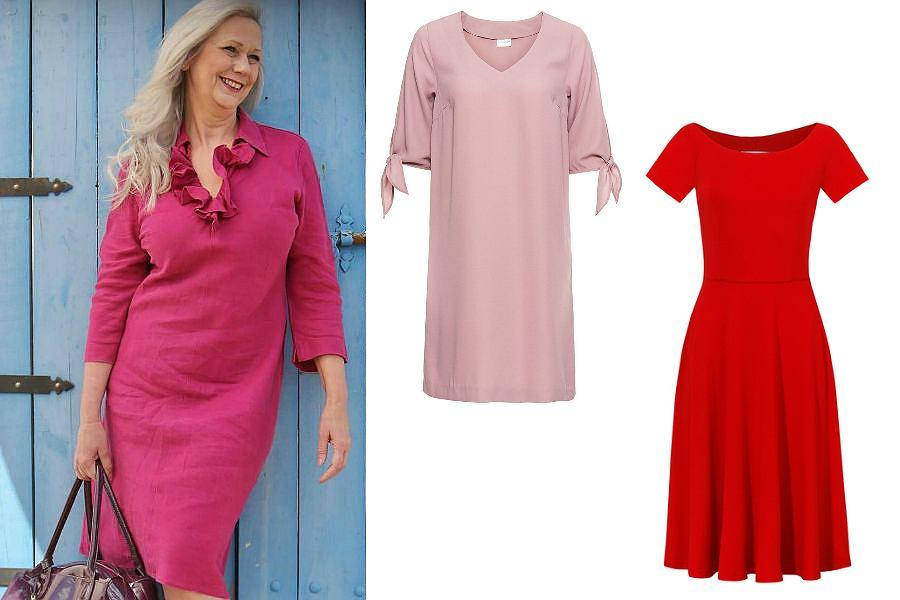 letnie sukienki dla dojrzałych kobiet